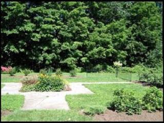 The Memorial Garden at Highland Cemetery.