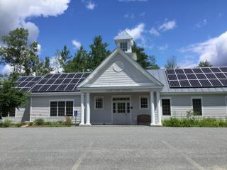 Solar Panels on the Lyme Town Offices, Summer 2017