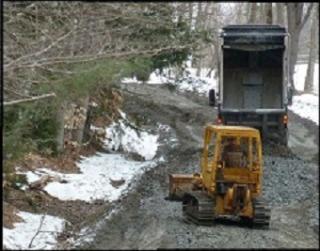 Mud Season on Pinnacle Road