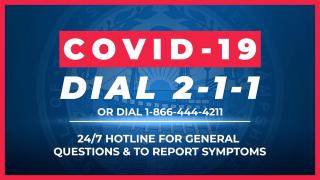Covid-19 Dial 211